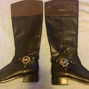 Micheal Kors riding boot